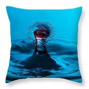 Kiss Me Splash Throw Pillow