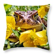 Kiss Me Baby Throw Pillow