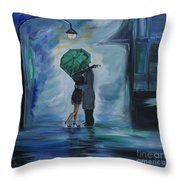 Kiss Me One More Time Throw Pillow