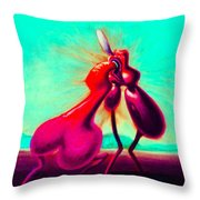 Kiss Of Joy Throw Pillow