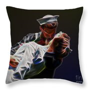 Kiss Throw Pillow
