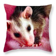 Kissable Throw Pillow