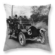 Kissel Kar, 1910 Throw Pillow