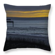 Kisses At Sunrise Throw Pillow