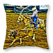Kissimmee Roper Throw Pillow