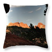 Kissing Camels 11344 Throw Pillow