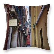 Kissing Lanes Seville Throw Pillow