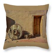 Kit Carson Home Taos New Mexico Throw Pillow