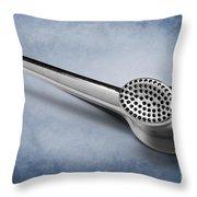 Kitchen Art  Garlic Crusher Throw Pillow