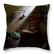 Kitchen Corner Throw Pillow