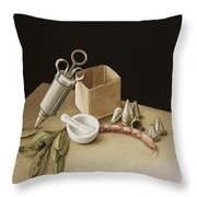 Kitchen Geometry Throw Pillow by Jenny Barron