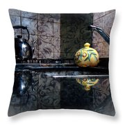 Kitchen Stove Throw Pillow