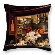 Kitchen View Throw Pillow