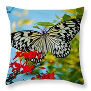 Kite Butterfly Throw Pillow