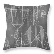 Kite Patent Throw Pillow