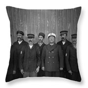 Kitty Hawk Crew, 1900 Throw Pillow