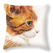 Kitty Kat Iphone Cases Smart Phones Cells And Mobile Cases Carole Spandau Cbs Art 338 Throw Pillow