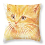 Kitty Kat Iphone Cases Smart Phones Cells And Mobile Cases Carole Spandau Cbs Art 339 Throw Pillow