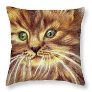 Kitty Kat Iphone Cases Smart Phones Cells And Mobile Phone Cases Carole Spandau 317 Throw Pillow