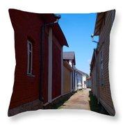 Kitukrann Old Rauma Throw Pillow
