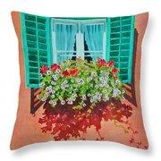 Kitzbuhel Window Throw Pillow