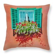 Kitzbuhel Window Throw Pillow