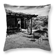 Kiva Koffeehouse - Utah Throw Pillow