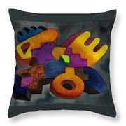 Kivi Pampa Apu Throw Pillow
