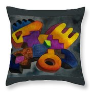 Kivi Pampa Apu Throw Pillow