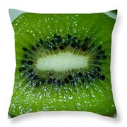 Kiwi Twang Throw Pillow