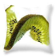 Kiwi With A Twist Throw Pillow