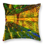 Klimt Covetous Throw Pillow