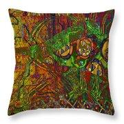 Klimt Honor Throw Pillow