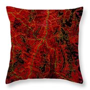 Klimt Surface Throw Pillow