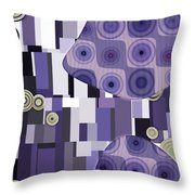 Klimtolli - 28 Throw Pillow