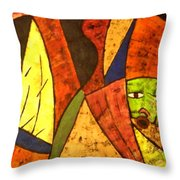 Klode Untiled 1 Throw Pillow