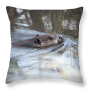 Knife In Water Throw Pillow