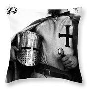Knight 3 Throw Pillow