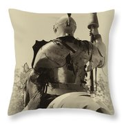 Knight 6 Throw Pillow
