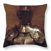 Knight In Shining Armor Throw Pillow