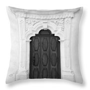 Knock And It Shall Be Opened Throw Pillow