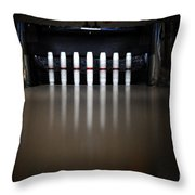 Knock Em Down Throw Pillow
