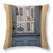 Knock Twice And Ask For Betty Throw Pillow