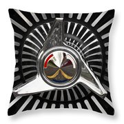 Knockoff Wheel Throw Pillow