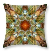 Knots Xvi Throw Pillow by Kenneth Hadlock