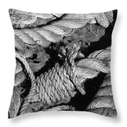 Knotted 2 Throw Pillow