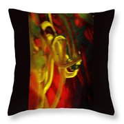 Knotted Silence Throw Pillow