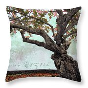 Knotted Tree Throw Pillow