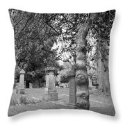 Knotty Tree Throw Pillow
