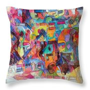 Know That This Is The Purpose Of The Creation To Deepen Knowledge And Thought On The Service Of G-d Throw Pillow